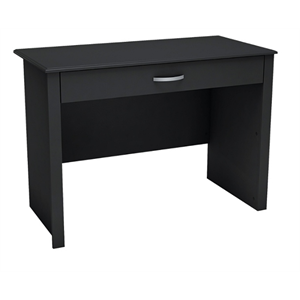 (Scratch & Dent) South Shore Work ID Desk, Pure Black