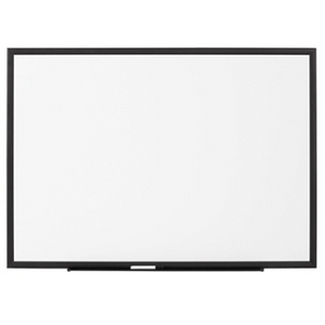 "FORAY Magnetic Dry Erase Board, 72"" x 48"", Jet Black"