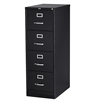 "Used 15"" Wide 4 Drawer vertical File, Black"