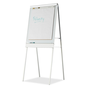 Iceberg Polarity Magnetic Presentation Flip-chart Easel with Dry-erase Surface, 30