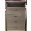 "Used 42"" Wide 5 Drawer Lateral File, Gray"