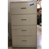 "Pre-Owned Hon 30"" Wide 4 Drawer File system, Putty"