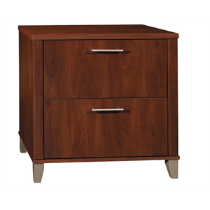 Bush Furniture Somerset Lateral File Cabinet, Hansen Cherry