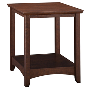 Bush Buena Vista End Tables, Madison Cherry, Standard Delivery