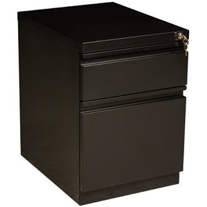 "(Scratch and Dent) WorkPro 20""D Box Drawer/File Drawer Vertical Mobile Pedestal File Cabinet, Black"