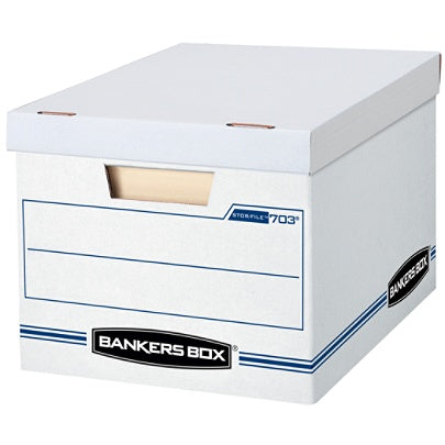 Bankers Box Outlet Stor/File Basic Strength Storage Boxes, 15