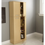 South Shore Axess Storage Pantry, Natural Maple