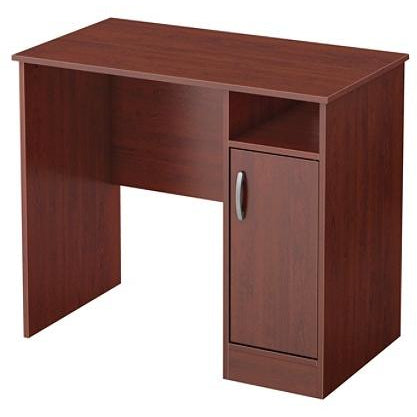 (Scratch & Dent) South Shore Axess Small Desk, Royal Cherry