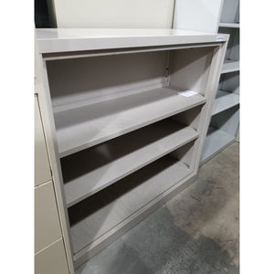Used 3 Shelf Book Case, Gray