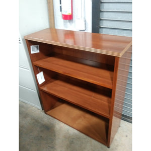"Pre-Owned 3 Shelf Bookcase, 41""High x 36""Wide, Maple"