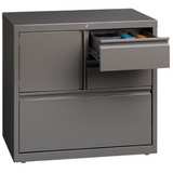"WorkPro 30""W Personal Storage Center Lateral File Cabinet, Medium Tone"