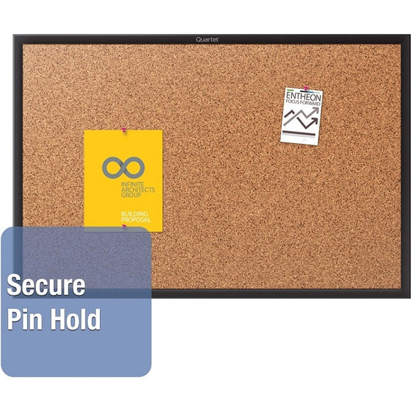 (Scratch & Dent) Quartet Outlet Classic Cork Bulletin Board, 24