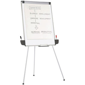 "OF4S Outlet Tripod Dry-Erase Easel, 29 3/8"" x 44"""