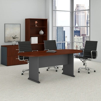 Scratch Dent Bush Business Furniture Outlet 82 W X 35 D Racetrack