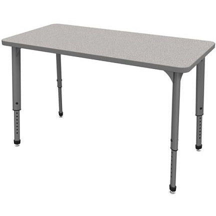 Marco Group Outlet Apex Series Rectangle Adjustable Table, 30