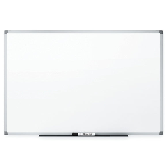 (Scratch & Dent) Quartet Outlet Dry-Erase Board With Aluminum Frame, 24