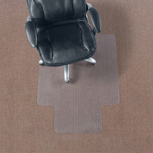 "Realspace Outlet Economy Chair Mat For Thin Commercial-Grade Carpets, Standard Lip, 36""W x 48""D, Clear"