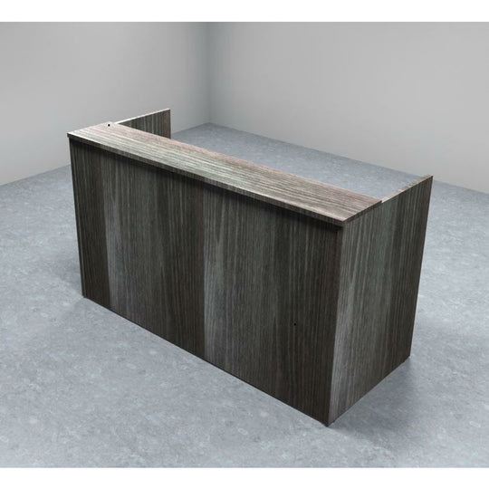 Sheridan 5-Ft. Reception Desk Shell with Rectangular Laminate Counter, 60