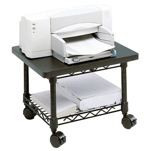 Safco Outlet Underdesk Printer/Fax Stand, Black