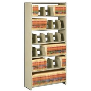 "Tennsco 76""H Add-On Unit For Snap-Together Open Shelving, Sand"