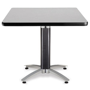 "OFM Multipurpose Table, Square, 36""W x 36""D, Gray"