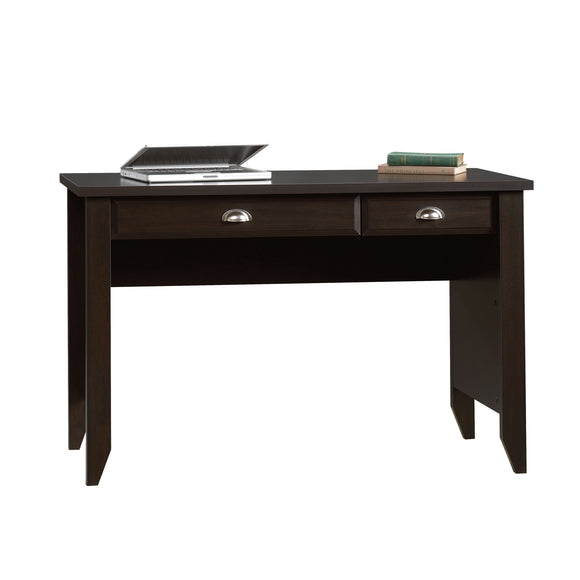 Sauder Outlet Shoal Creek Computer Desk With 2 Drawers, Jamocha Wood