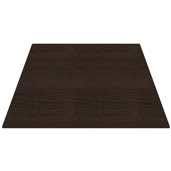 WorkPro Flex Outlet Collection Trapezoid Table Top, Espresso