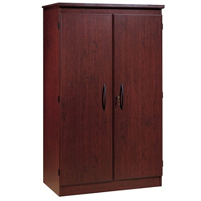 (Scratch & Dent) South Shore Outlet Morgan Storage Armoire, Royal Cherry