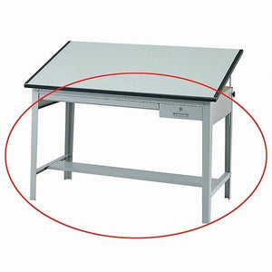 "Safco Outlet Precision Drafting Table Base, 35-1/2""H x 56-3/8""W x 30-1/2""D, Gray"