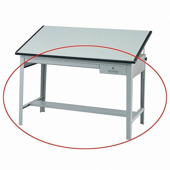 Safco Outlet Precision Drafting Table Base, Gray