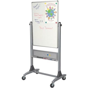 "(Scratch & Dent) Best-Rite Outlet Dura-Rite Reversible Dry-Erase White Board, 40"" x 30"""