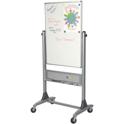 (Scratch & Dent) Best-Rite Outlet Dura-Rite Reversible Dry-Erase White Board, 40