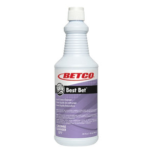 Betco Best Bet Creme Cleanser, Fresh Mint Scent, 41.3 Oz, Pack Of 12