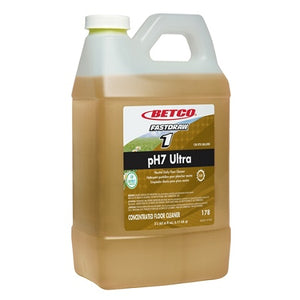 Betco Outlet PH7 Ultra Floor Cleaner, Fastdraw, 67.6 Oz (2-Liter), Pack Of 4