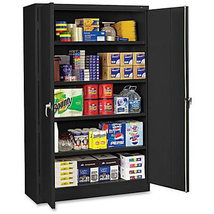 (Scratch & Dent) Tennsco Jumbo Storage Cabinet, 5-Shelf, 78