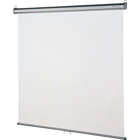 Quartet Outlet  Wall/Ceiling Projector Screen, 96