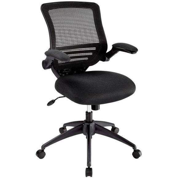 Realspace Outlet Calusa Mesh Mid-Back Manager's Chair, Black