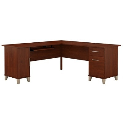 (Scratch & Dent) Bush Furniture Somerset L Shaped Desk, 72
