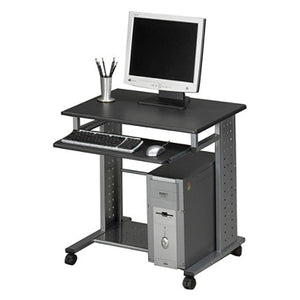 (Scratch & Dent) Mayline Group Mobile PC Station, Anthracite/Metallic Gray