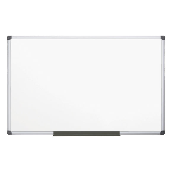 MasterVision Outlet Maya Gold Ultra Magnetic Dry-Erase Whiteboard, Lacquered Steel, 48