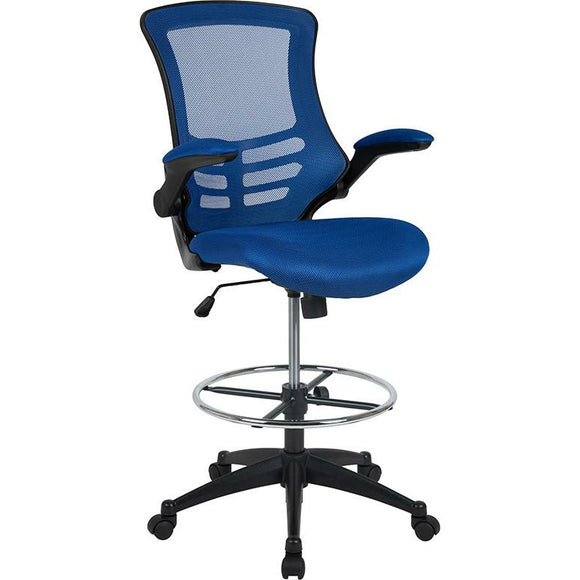 Mid-Back Mesh Ergonomic Drafting Chair