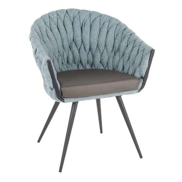 Trenza Series Braided Fabric Visitor Chair