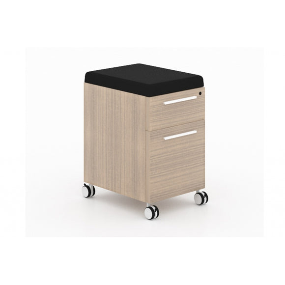 Chiarezza Deluxe Mobile Pedestal Box/File