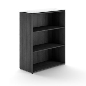 "Chiarezza 41""H Bookcase with Glass Top"