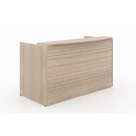 Chiarezza Reception Desk with Laminate Transaction Counter