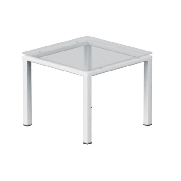 Sereno Glass Top End Table