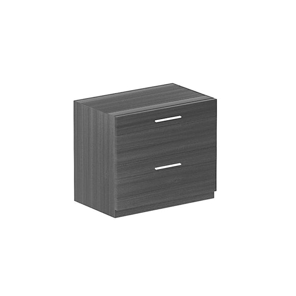 Chiarezza 2-Drawer Lateral File with Laminated Top