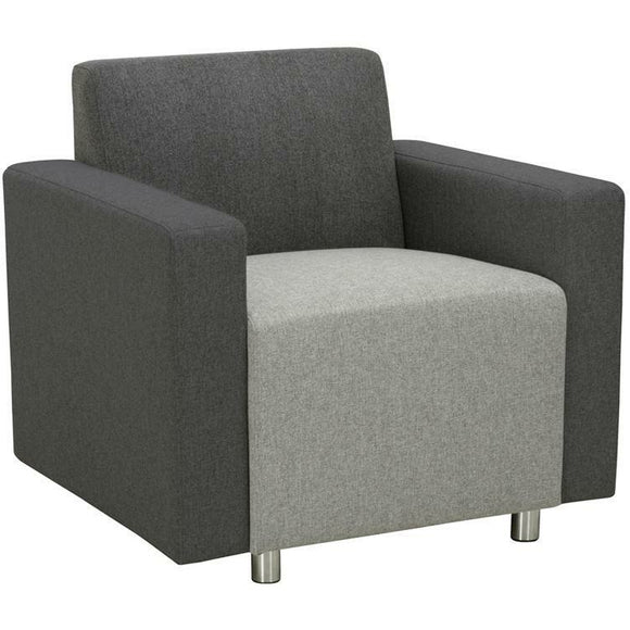 Empresario Stone Reception Chair with Arms