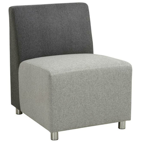 Empresario Stone Reception Armless Chair