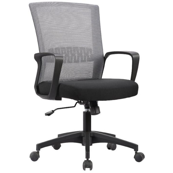 Haley II Ergonomic Mesh Task Chair, Estate Gray